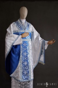 Borromeo chasuble with M application