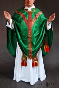 Conical chasuble